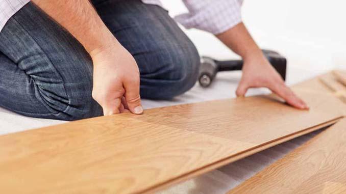 Een laminaatvloer aanleggen
